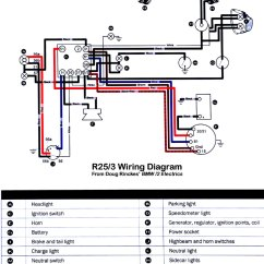Bmw R51 3 Wiring Diagram Basic Home Plumbing Great Installation Of R25 Detailed Diagrams Rh 14 Cifera De 1954 1953