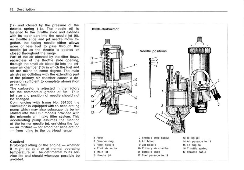 1966 R27 BMW Owners Manual