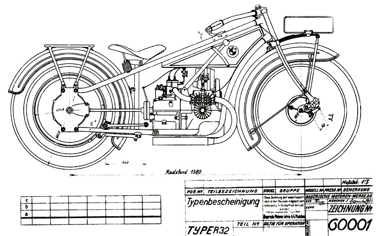 BMW Classics: A 1923-1926 R32 The First BMW Motorcycle