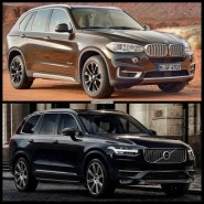 BMW X5 vs Volvo XC90 foto confronto 3