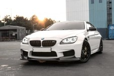 BMW M6 Gran Coupe 3D Design Aero rendering 1