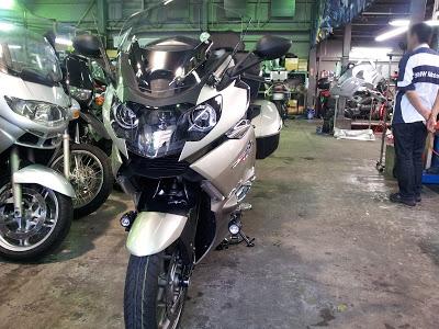 バイク BMW ツーリング