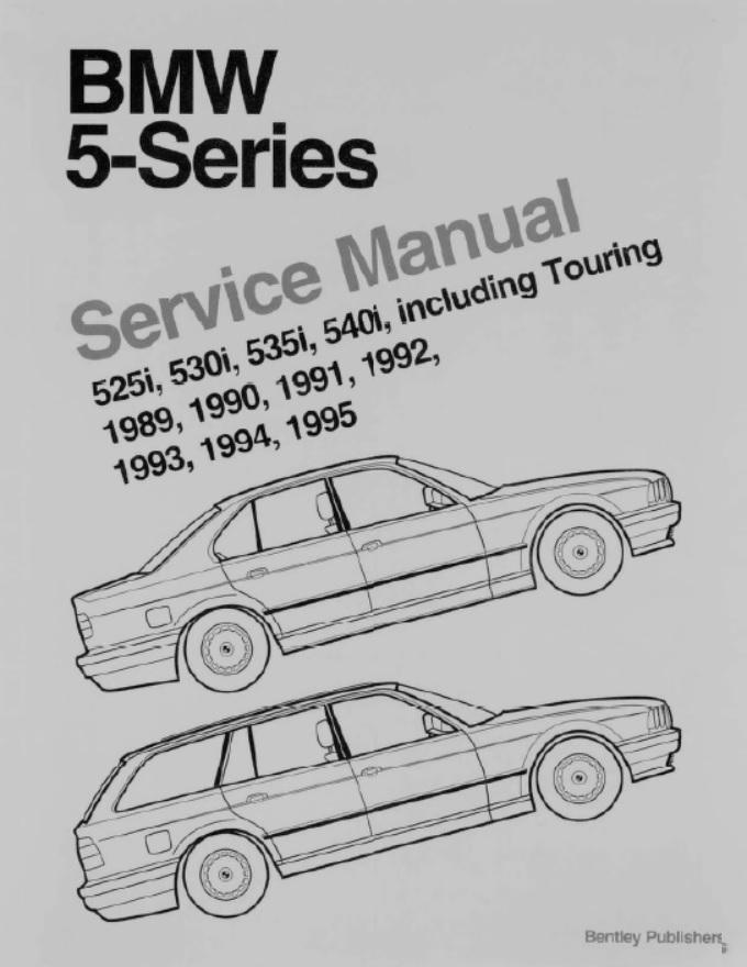 BMW Service and Repair Workshop Manual .pdf Download
