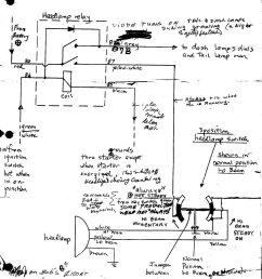 operation of headlight switch and headlight relay on bmw airhead per the resources link this diagram for the 87 rt shows the headlamp [ 1182 x 1518 Pixel ]