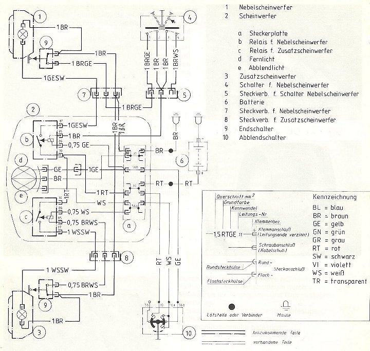 Bmw R100 1978 Instrument Wiring Diagram : 39 Wiring