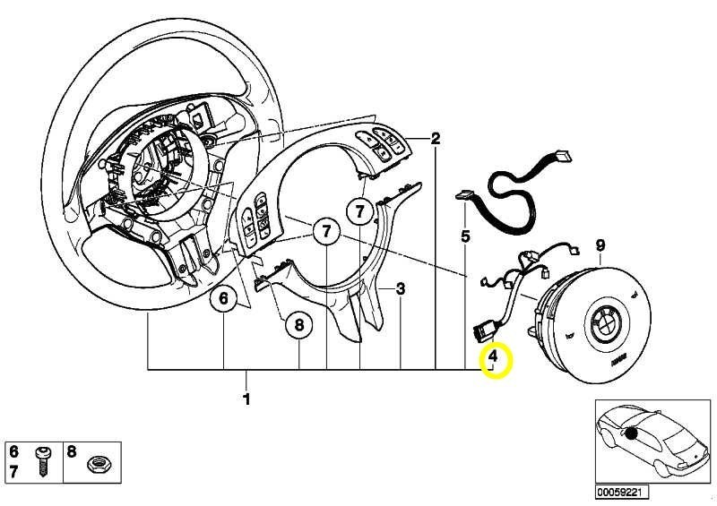 BMW E39 Airbag Diagram. BMW. Wiring Diagrams Instructions