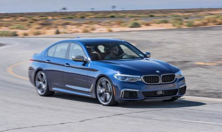 2022 bmw 5 series #1 ranking is based on its score within the Luxury Midsize Cars category