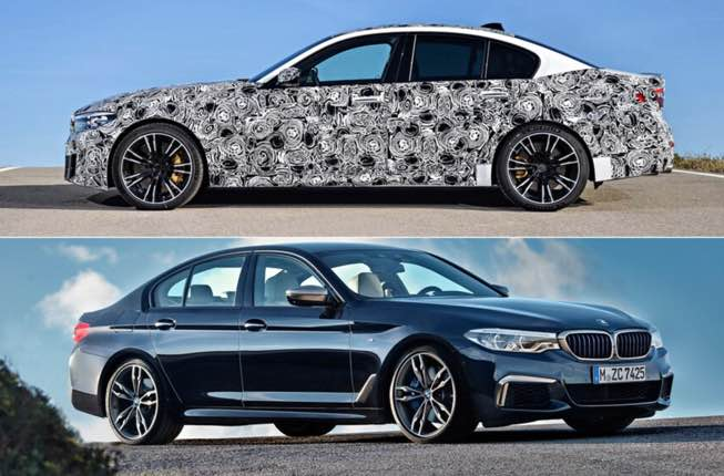 Pricing for bmw 5 2022 starts at $55,195