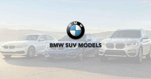 BMW SUV Models