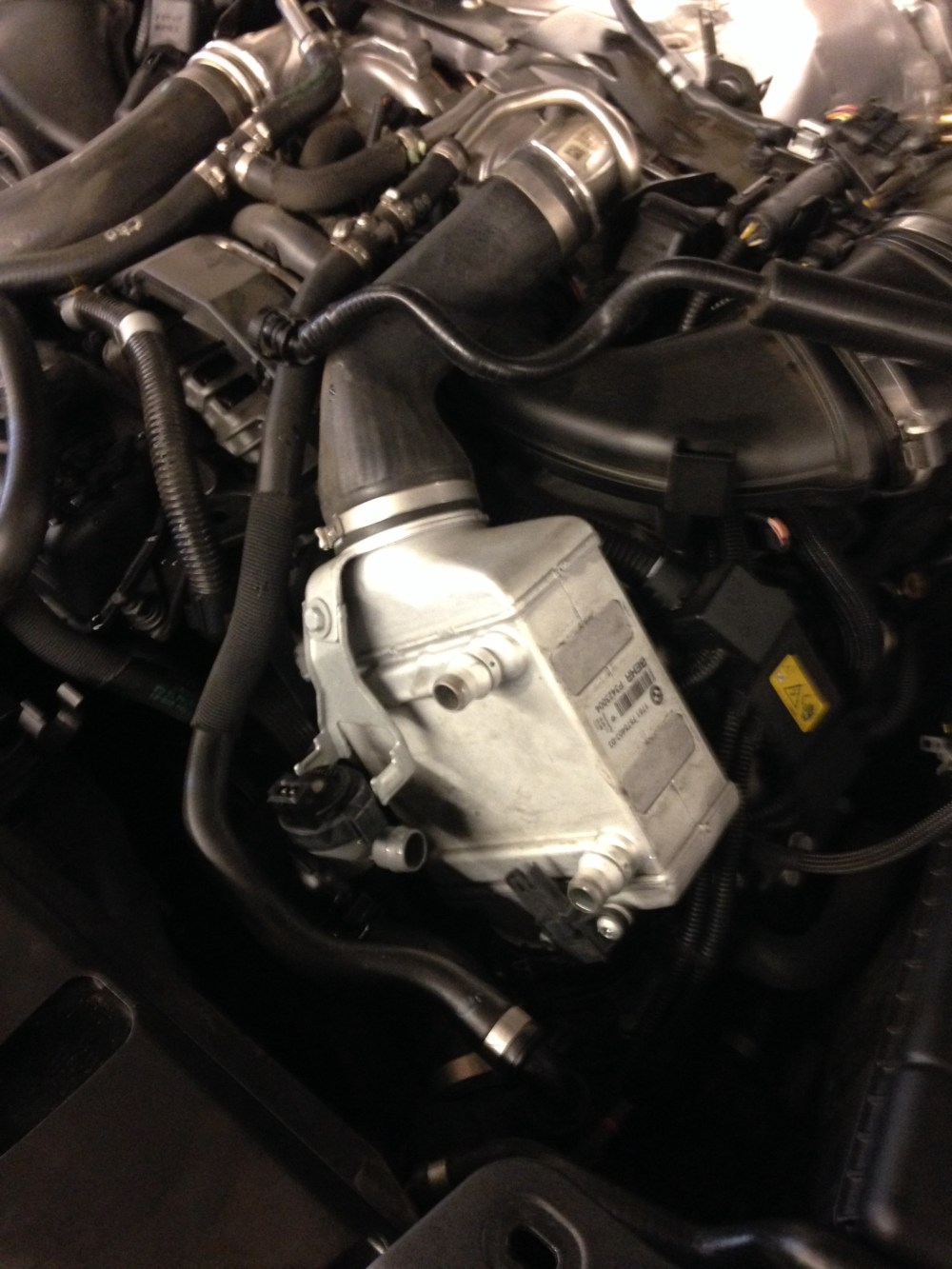 medium resolution of this n63 came in with check engine light on the fault was bank 2 intake vanos during cold start so the vanos unit wasn t working properly during cold