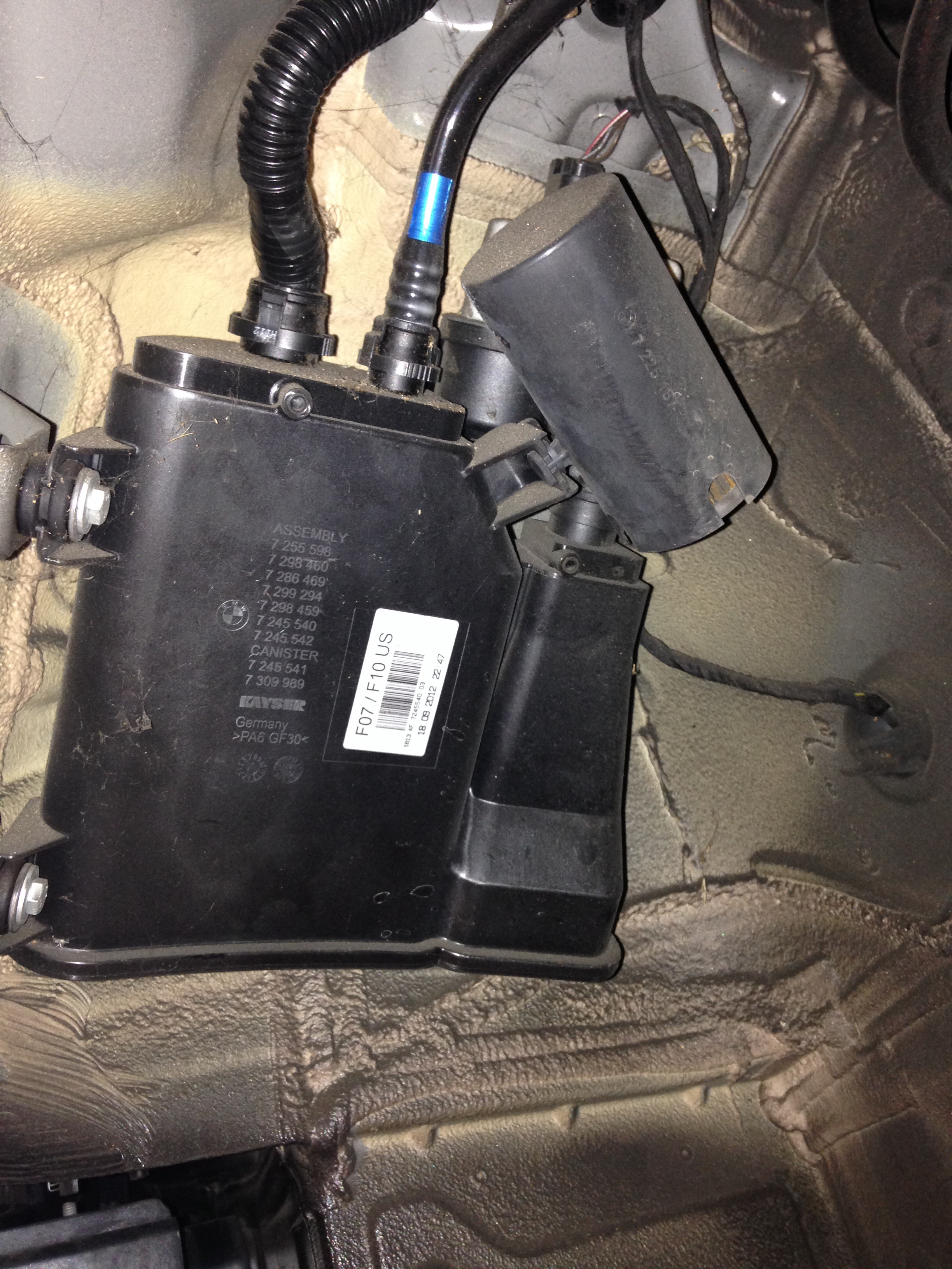 Cooper Switch Wiring Diagram F10 Dmtl Pump And Dust Filter Bmwtechnician