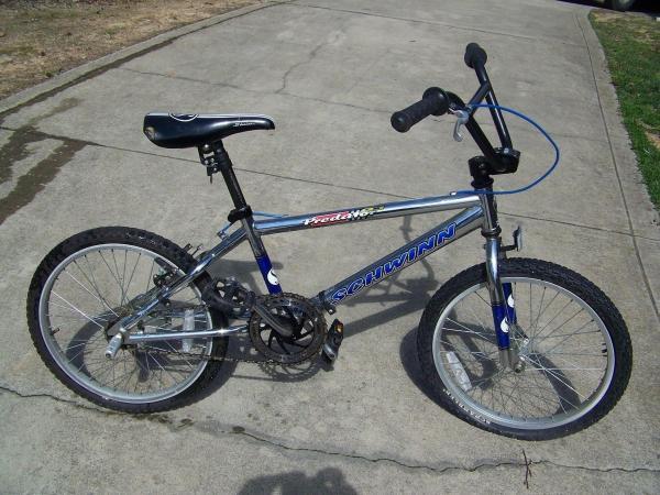 44c8a9f1d4c All Chrome Bmx Bikes Schwinn Predators. Schwinn BMX Bike Mid School Pics