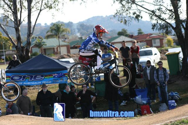Justin Beattie riping it up at Wodonga