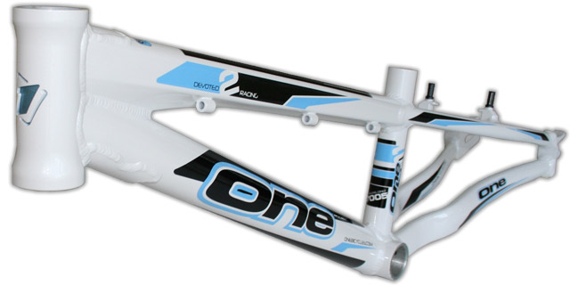 One Bicycles 2012 BMX race frame