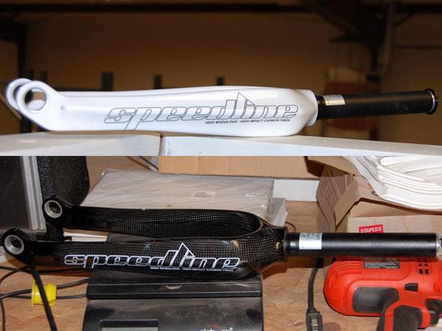 Speedline BMX carbon forks