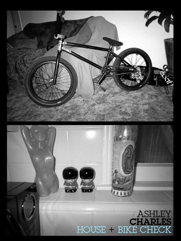 Ashley Charles House / Bike Check