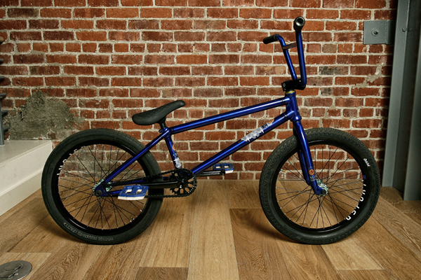 Andrew Jackson BMX bike check