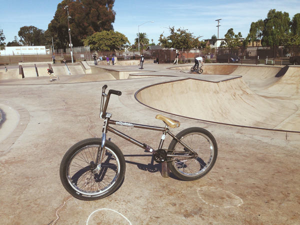 Tom Perry BMX Bike