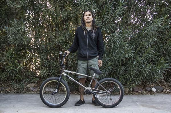Mariano Santiago BMX bike check