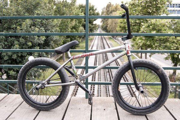 Jason Eustathiou Bike Check
