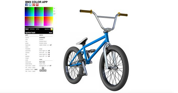 BMX frame and parts guide