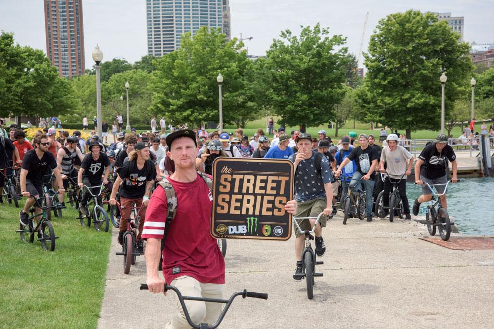 Chicago Street Series Monster 2015 BMX Day