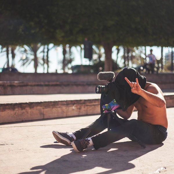 makeshift-viewfinder-in-Alicante,-Spain