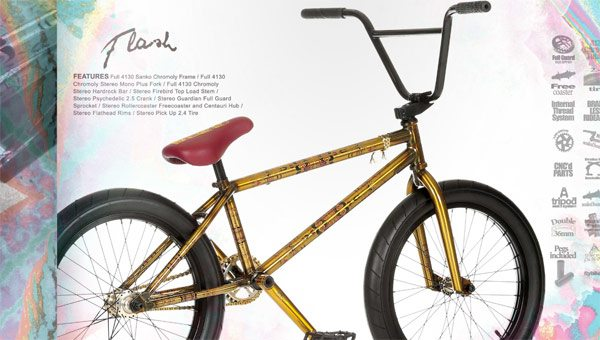 Stereo Bike Co 2016 Complete Bmx Bikes And Parts Catalog