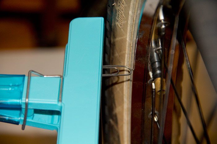 How to true a wheel without a truing stand
