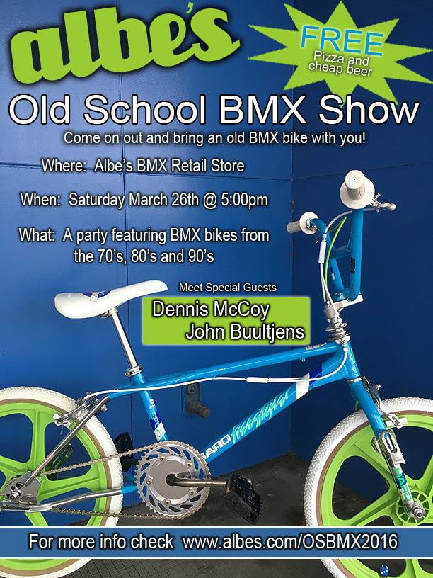 Albe's Old School BMX Show