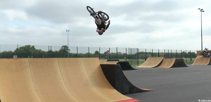 Tall Order BMX – First Big Session with the Team
