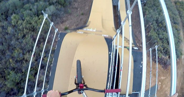 Mat Hoffman – Secret Ninja Big Air Ramp GoPro Edit