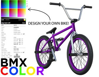 BMX Color App BMX Bike Game