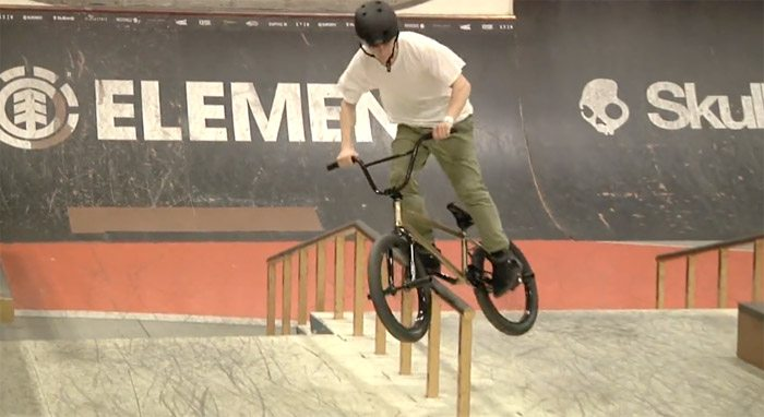 Imported BMX – Justin Hughes 2016 Video
