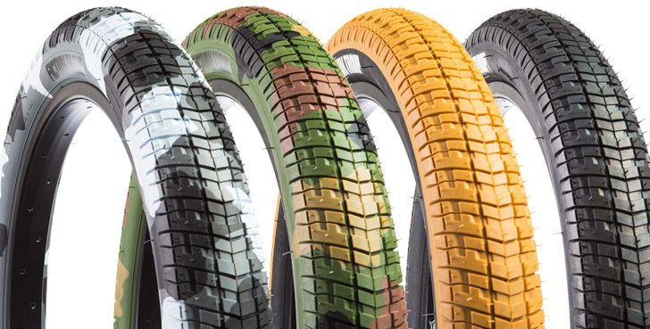 Product: Fiction BMX – Camouflage Troop Tires