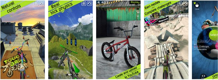 Touch Grind BMX Bike Games