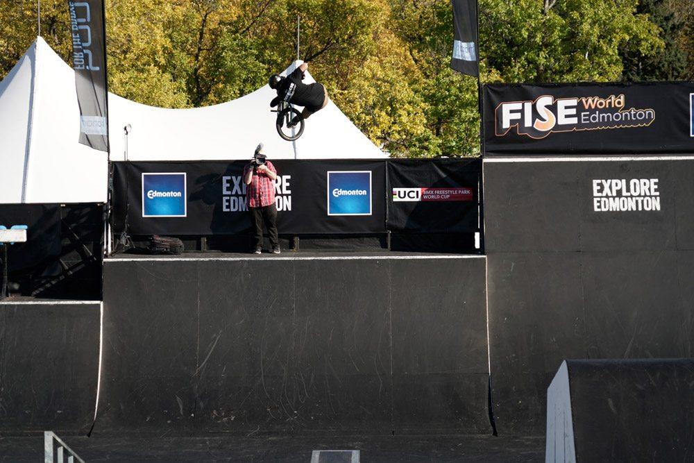 FISE Edmonton BMX Park Qualifier 2016