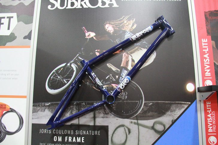 Interbike 2016 The Shadow Conspiracy Subrosa Brand BMX