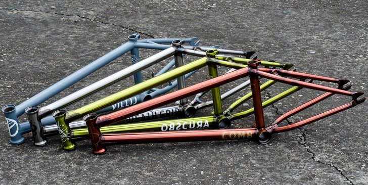 Mutiny Bikes – 2017 Frames and Parts