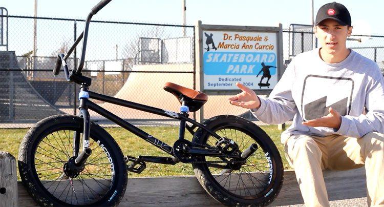 Anthony Panza On Merritt + Video Bike Check