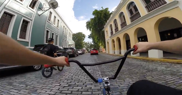 Billy Perry – Street Riding In Puerto Rico