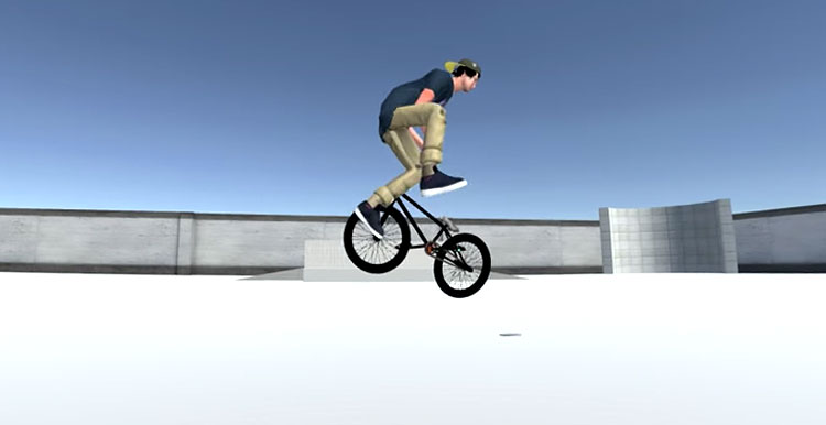 """BMX Streets"" Gameplay Test"