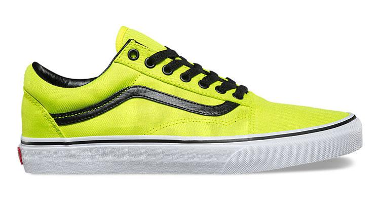vans yellow and black. vans-bright-old-skool-show-yellow-side vans yellow and black