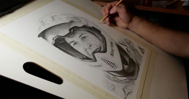 Drawing Mat Hoffman