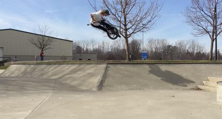 Brant Moore – 5 Skateparks + Street In One Day