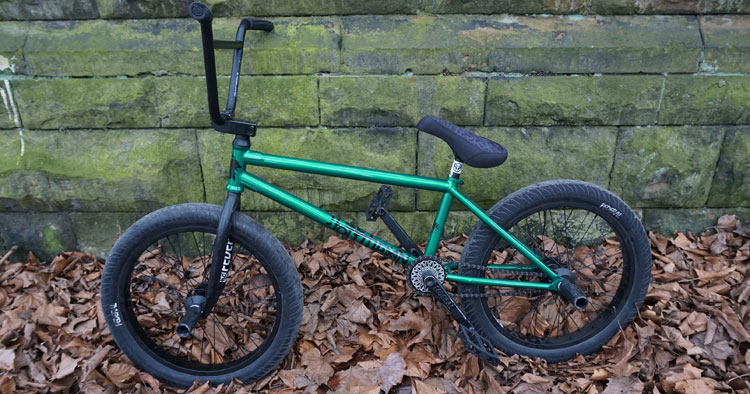 Jakub Juza BMX Bike Check Federal Bikes