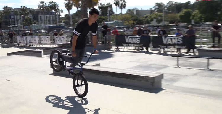2017 Vans BMX Street Invitational – AM Finals Highlights
