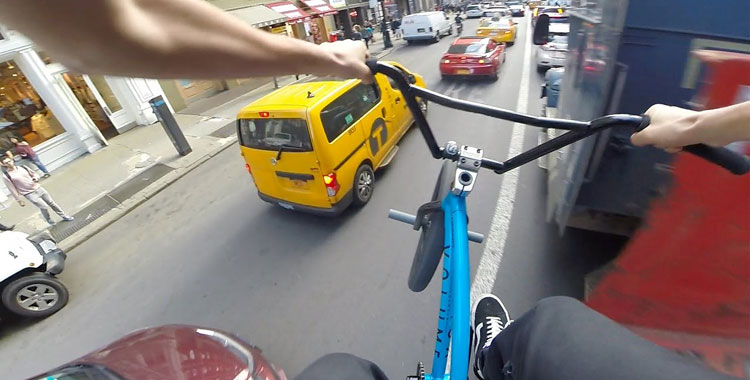 Billy Perry – GoPro BMX Riding In NYC 6