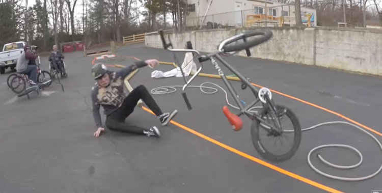 Fakie Obstacle Course