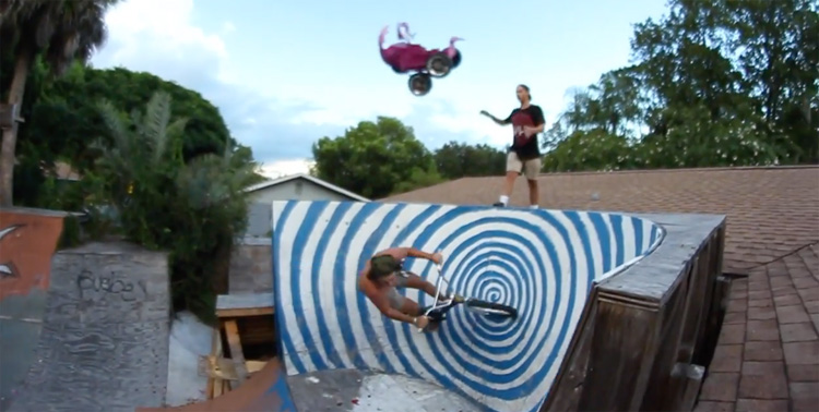 FloriDeah – Blowing Up A Car and Riding the Backyard